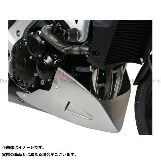 送料無料 BARRACUDA GSR600 GSR750 カウル・エアロ エンジンスポイラー アンダーカウル マットブラック for SUZUKI GSR750/GSR600