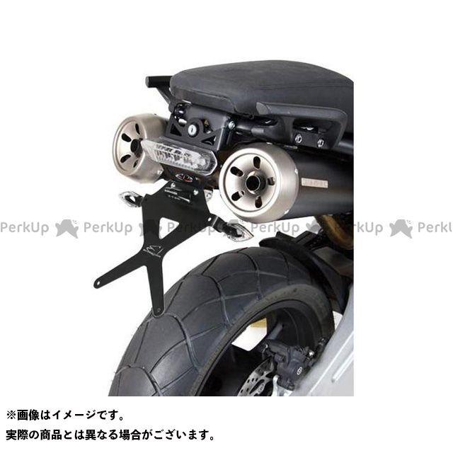 BARRACUDA MT-03(660cc) その他外装関連パーツ ナンバープレートホルダー キット/MT 03 バラクーダ