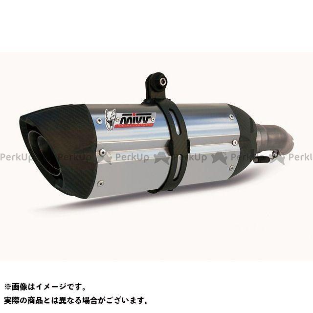 MIVV モンスター696 マフラー本体 スリップオンマフラー SUONO チタン(カーボンエンドキャップ) 2本出し MONSTER 696 (08-)  ミヴ