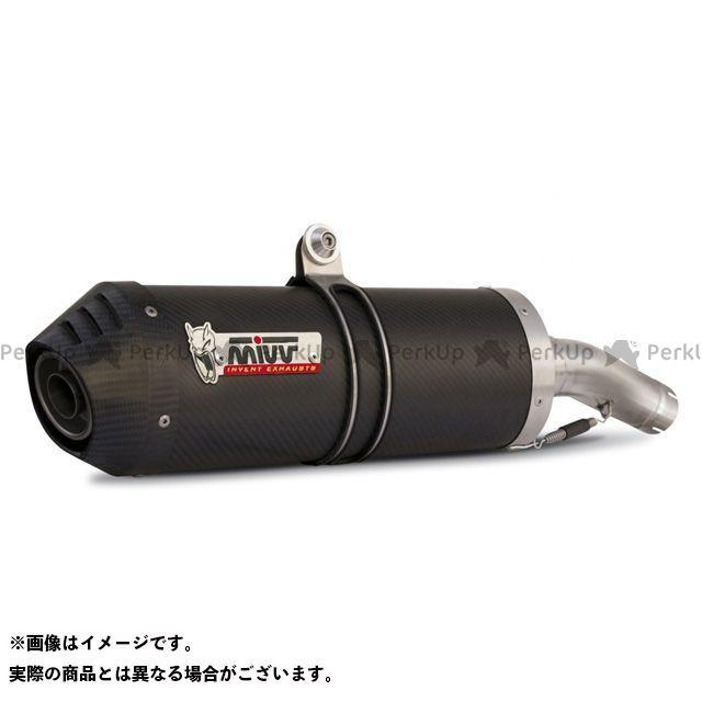 MIVV Z1000 マフラー本体 スリップオンマフラー OVAL カーボン(カーボンエンドキャップ) 2本出し Z 1000 (07-09) ミヴ