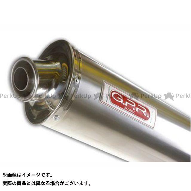【エントリーで最大P23倍】G.P.R. トゥオーノ1000 マフラー本体 スリップオンマフラー APRILIA TUONO 1000 (06) Exhaust 仕様:Titan Oval GPR