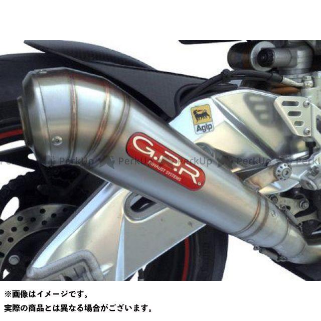 【エントリーで更にP5倍】G.P.R. RSV4ファクトリー マフラー本体 スリップオンマフラー APRILIA RSV4 2009 catalizz 2005/30 Exhaust 仕様:Powercone GPR