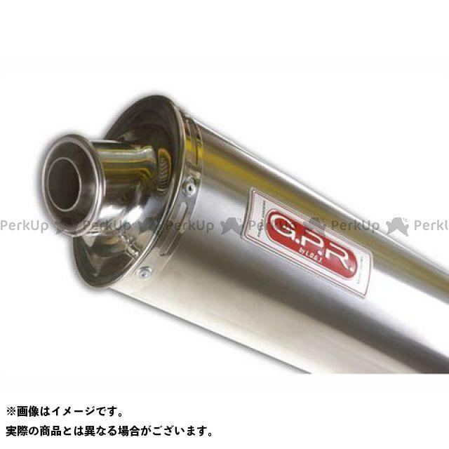 G.P.R. RST1000フツーラ マフラー本体 スリップオンマフラー APRILIA FUTURA 1000 con porta targa Exhaust Oval Titan GPR