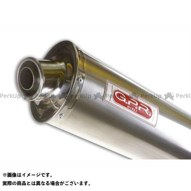 【エントリーで最大P23倍】G.P.R. ラプトール650 マフラー本体 スリップオンマフラー CAGIVA RAPTOR 650 Exhaust 仕様:Titan Oval GPR