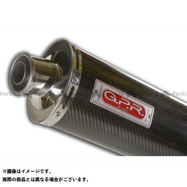 G.P.R. マフラー本体 スリップオンマフラー DUCATI MONSTER 620-695-800-1000 High Exhaust Carbon Oval GPR