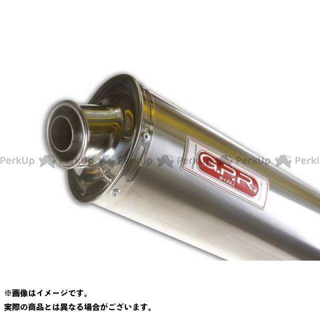 G.P.R. その他のモデル マフラー本体 スリップオンマフラー KAWASAKI ZXR 636 2003 ZX600KK Exhaust Titan Oval