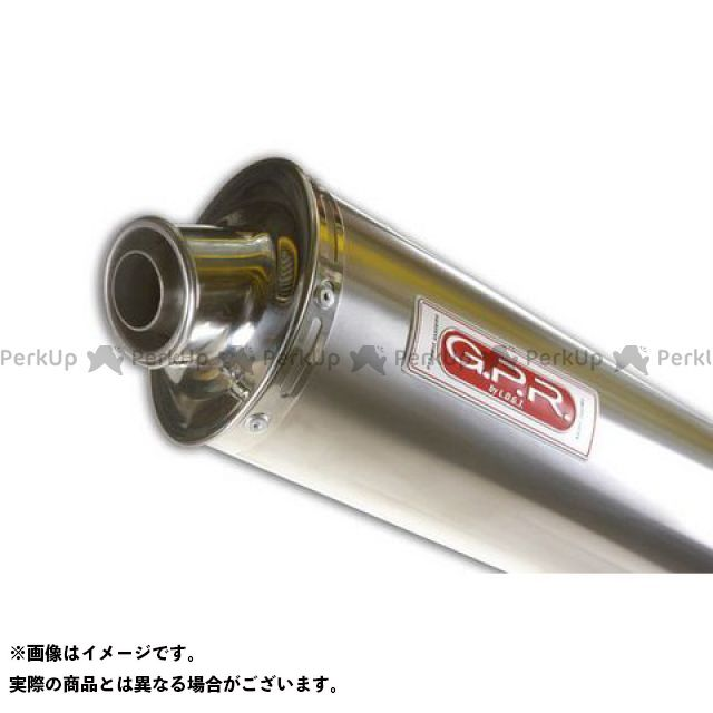 【エントリーで最大P23倍】G.P.R. TL1000R マフラー本体 スリップオンマフラー SUZUKI TL 1000 R Coppia Exhaust 仕様:Titan Oval GPR