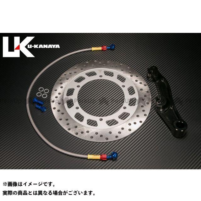 【エントリーで更にP5倍】【特価品】U-KANAYA VMAX キャリパー リアキャリパーサポートキット カラー:ブラック ユーカナヤ