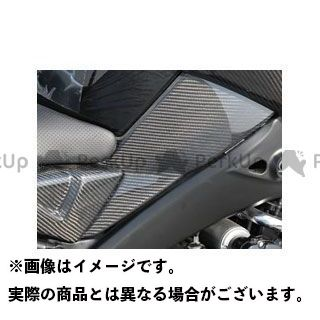 Magical Racing ビーキング ドレスアップ・カバー タンクサイドカバー 平織りカーボン製