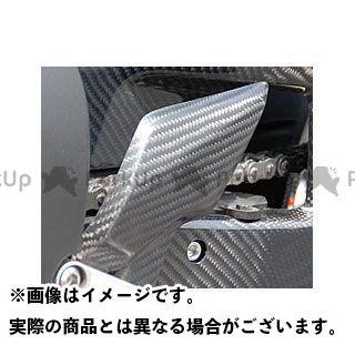 【エントリーで更にP5倍】【特価品】Magical Racing CBR1000RRファイヤーブレード ドレスアップ・カバー ヒールガード 左右1セット 材質:平織りカーボン製 マジカルレーシング
