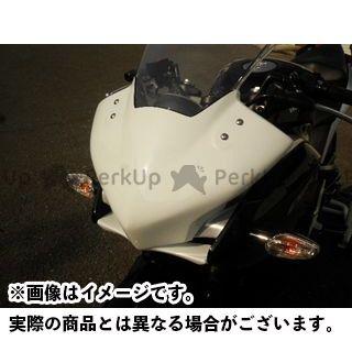 【エントリーで更にP5倍】才谷屋ファクトリー CBR250R カウル・エアロ フロントマスク レース 仕様:白ゲル 才谷屋