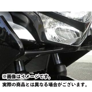 才谷屋ファクトリー CBR250R カウル・エアロ RCVフロントマスク スリット 黒ゲル