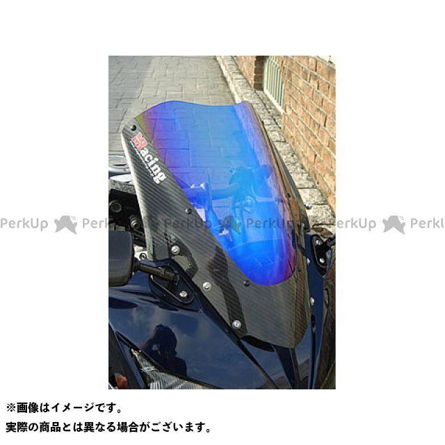 Magical Racing FZ1フェザー(FZ-1S) スクリーン関連パーツ バイザースクリーン 綾織りカーボン製 スモーク