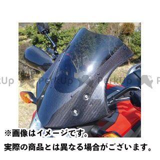 Magical Racing NC700X スクリーン関連パーツ バイザースクリーン 平織りカーボン製 クリア