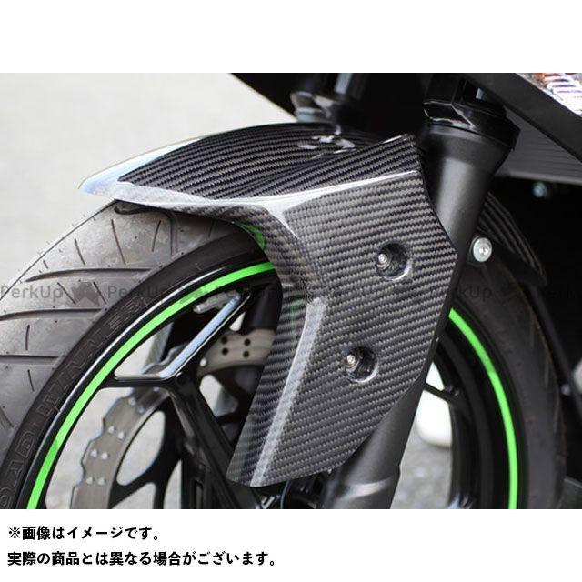 Magical Racing ニンジャ250 Z250 フェンダー フロントフェンダー フォークガード一体式 材質:綾織りカーボン製 マジカルレーシング