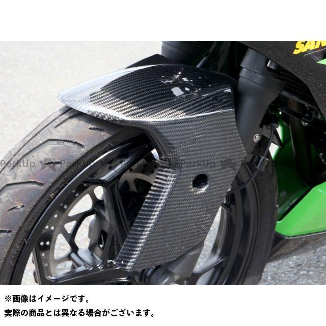 【特価品】Magical Racing ニンジャ250SL フェンダー フロントフェンダー 材質:平織りカーボン製 マジカルレーシング