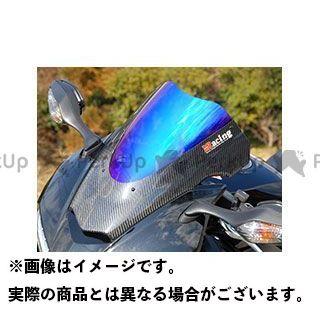 Magical Racing VFR800F スクリーン関連パーツ カーボントリムスクリーン 綾織りカーボン製 スーパーコート