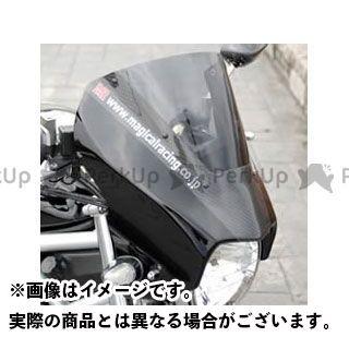 【特価品】Magical Racing VTR250 カウル・エアロ アッパーカウル 材質:綾織りカーボン製 カラー:スモーク マジカルレーシング