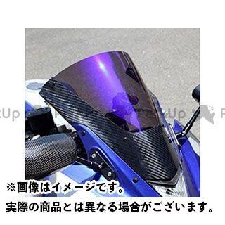 【エントリーでポイント10倍】 マジカルレーシング YZF-R25 スクリーン関連パーツ カーボントリムスクリーン 平織りカーボン製 スモーク