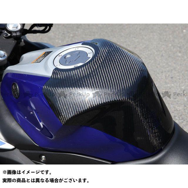 【特価品】Magical Racing YZF-R25 ドレスアップ・カバー タンクエンド 中空モノコック構造 材質:平織りカーボン製 マジカルレーシング