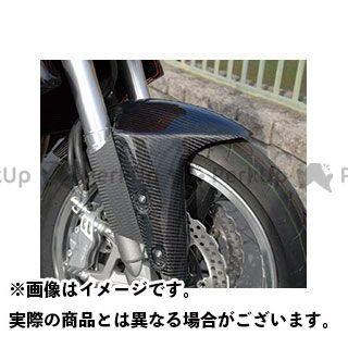 Magical Racing Z1000 フェンダー フロントフェンダー フォークガード付 平織りカーボン製