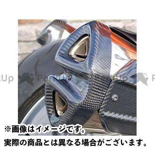 【特価品】Magical Racing Z1000 マフラーカバー・ヒートガード マフラーエンドガード 左右セット 材質:綾織りカーボン製 マジカルレーシング