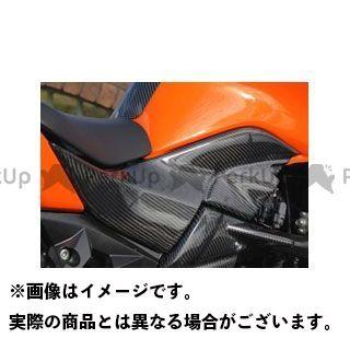 Magical Racing Z1000 カウル・エアロ タンクサイドカバー 左右セット 平織りカーボン製