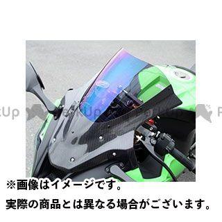 【エントリーでポイント10倍】 マジカルレーシング ニンジャZX-10R スクリーン関連パーツ バイザースクリーン 平織りカーボン製 スモーク