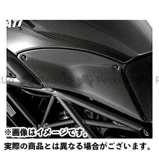 【特価品】Magical Racing ディアベル カウル・エアロ タンクサイドカバー 材質:綾織りカーボン製 マジカルレーシング