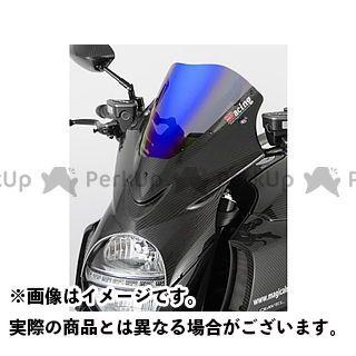 Magical Racing ディアベル スクリーン関連パーツ バイザースクリーン(50mmロングスクリーン) 平織りカーボン製 スーパーコート