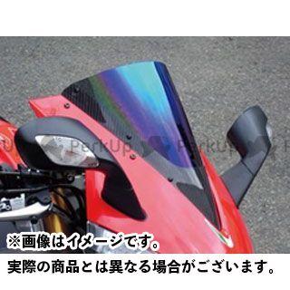 【エントリーでポイント10倍】 マジカルレーシング RSV4ファクトリー スクリーン関連パーツ カーボントリムスクリーン 綾織りカーボン製 クリア