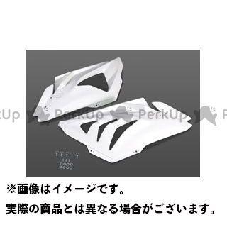 【エントリーで最大P23倍】Magical Racing S1000RR カウル・エアロ サイドカウル 左右セット(カウルファスナー付属) 材質:FRP製・白 マジカルレーシング