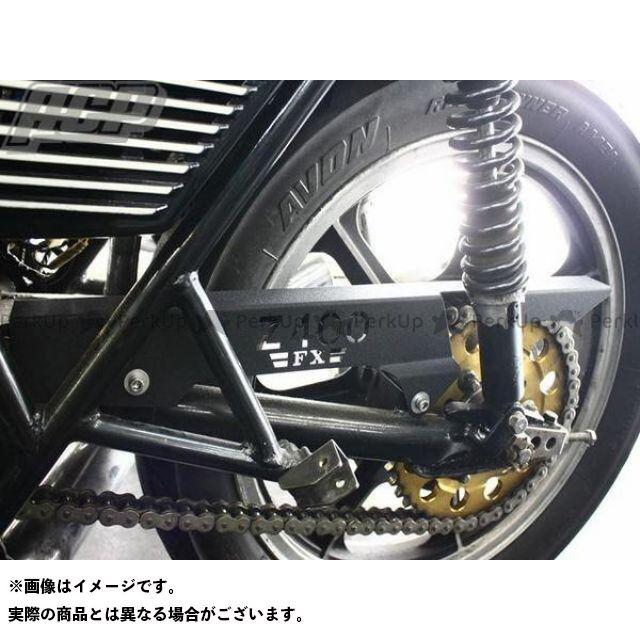 エーシーピー Z400FX Z400J チェーン関連パーツ Z400FX ロゴ入り チヂミ塗装 チェーンケース カラー:黒 ACP