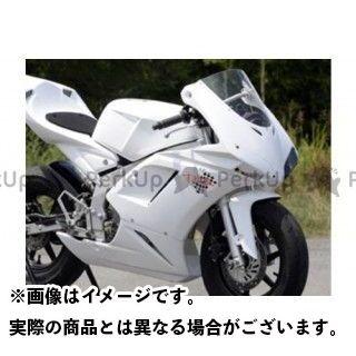 才谷屋ファクトリー NSR50 NSR80 外装セット 1098typeフルカウル/耐久レース/白ゲル カラー:スモーク 才谷屋