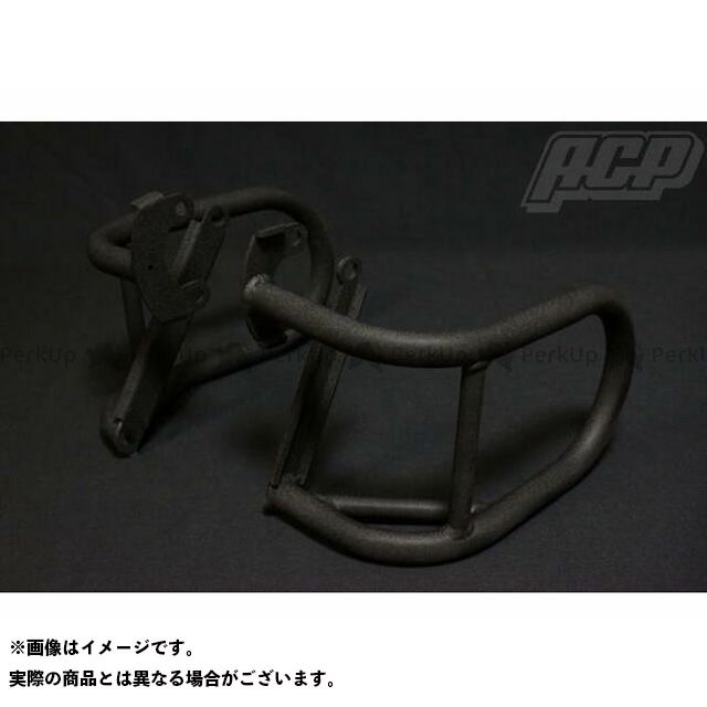 エーシーピー ゼファー ゼファー カイ エンジンガード ゼファー400/X用 チヂミ塗装 エンジンガード 黒 ACP