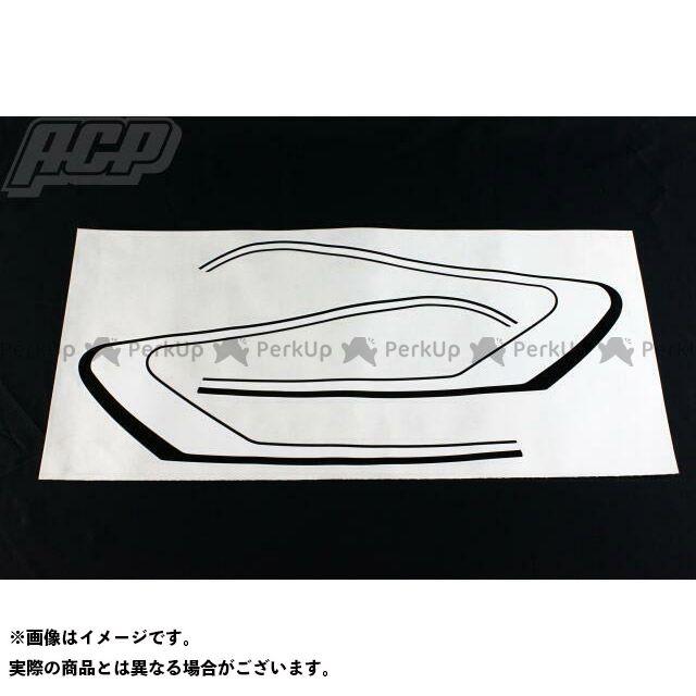 【エントリーで更にP5倍】エーシーピー ステッカー GT380用純正タイプラインステッカーセット(白/黒) ACP