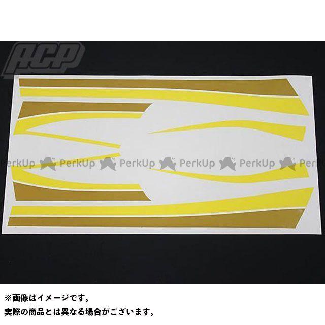 エーシーピー ステッカー Z400FX タイガー ラインステッカーセット(イエロー) ACP