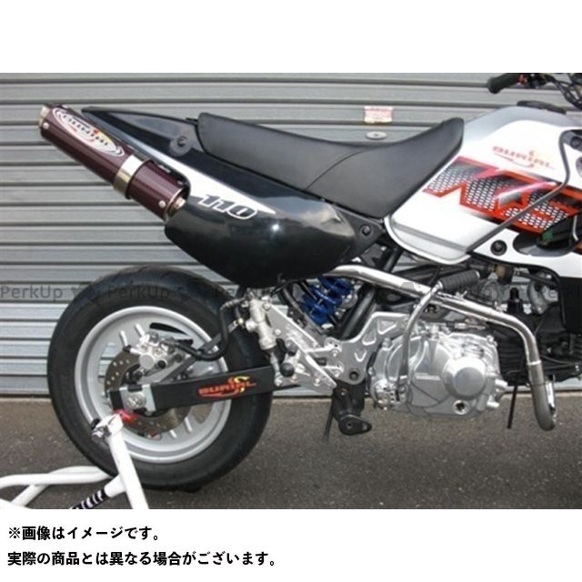 BURIAL KSR110 マフラー本体 GP M1マフラー ベリアル