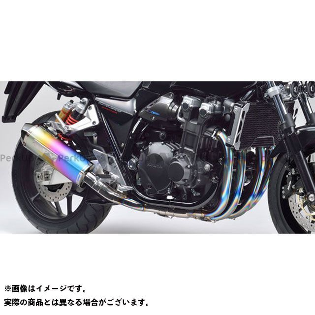 MORIWAKI CB1300スーパーフォア(CB1300SF) マフラー本体 MX RED LINE マフラー タイプ:ANO(アノダイズドチタン) モリワキ
