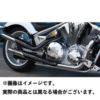 MORIWAKI VT1300CR VT1300CS VT1300CX マフラー本体 Galaxy SUS マフラー タイプ:ブラック モリワキ