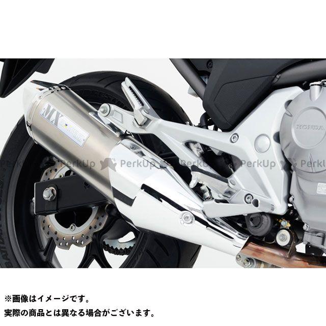 MORIWAKI マフラー本体 MX スリップオンマフラー WT(ホワイトチタン) モリワキ