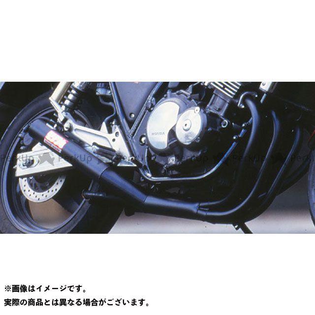 MORIWAKI CB400スーパーフォア(CB400SF) マフラー本体 ONE-PIECE BLACK マフラー モリワキ