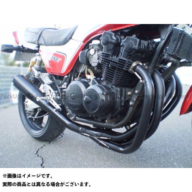 SuperBike CB1100F CB750F CB900F マフラー本体 CB750F/900F/1100F -Hand Bend- Type-19Fh427 インナーパンチング:Danger スーパーバイク