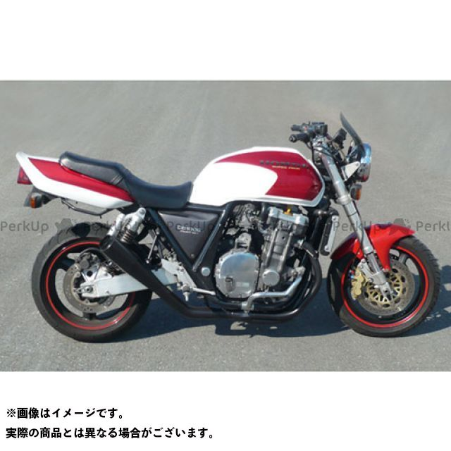 SuperBike CB1000スーパーフォア(CB1000SF) マフラー本体 CB1000SF BIG 1/SC30 -Hand Bend- Type-19Fh インナーパンチング:Danger スーパーバイク