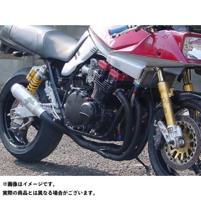 SuperBike GSX1100Sカタナ GSX750Sカタナ マフラー本体 GSX750S/1000S/1100S刀 -Hand Bend- Type-34Wh427 Hard スーパーバイク