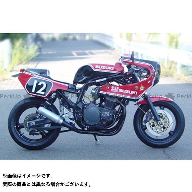 SuperBike GS1200SS マフラー本体 GS1200SS -Hand Bend- Type-34Wh インナーパンチング:Danger スーパーバイク