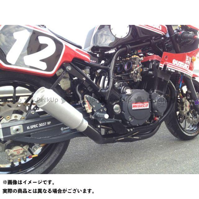 SuperBike GS1200SS マフラー本体 GS1200SS -Hand Bend- Type-34Wh427 インナーパンチング:Danger スーパーバイク