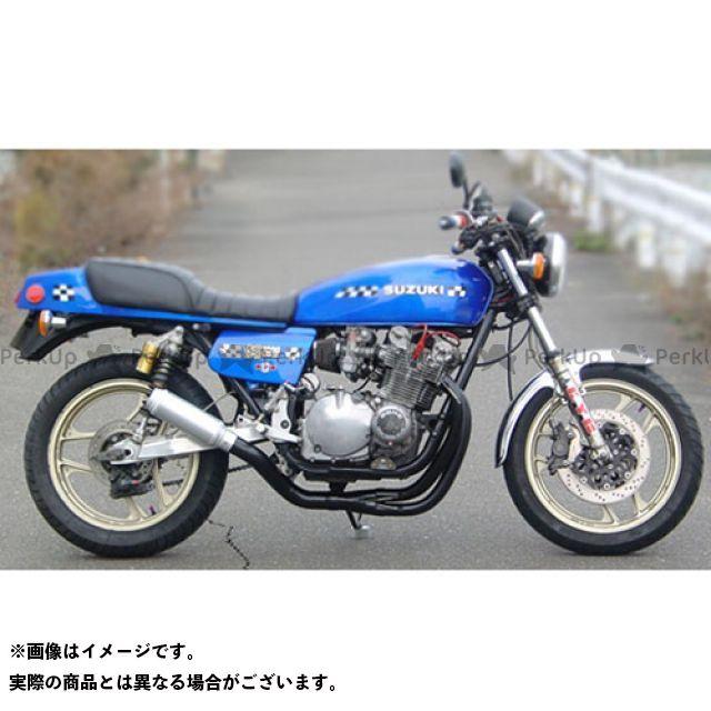 SuperBike GS1000 マフラー本体 GS1000 -hand Bend- Type-34Wh427 Danger スーパーバイク