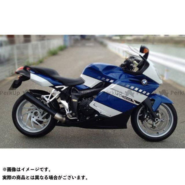 SuperBike K1200S マフラー本体 K1200S S.P.L ショートメガフォンスタイル 仕様:スチール スーパーバイク