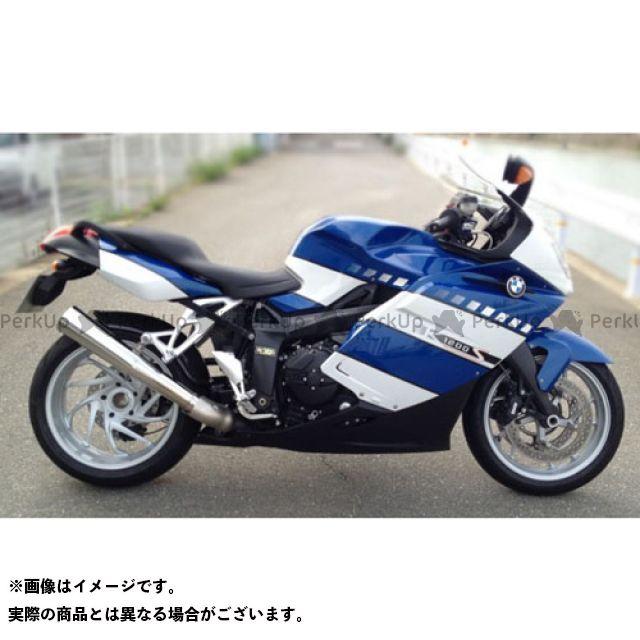 【エントリーで更にP5倍】SuperBike K1200S マフラー本体 K1200S S.P.L メガフォンスタイル 仕様:スチール スーパーバイク